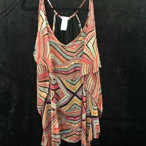 Jessica Simpson Print swimsuit cover up